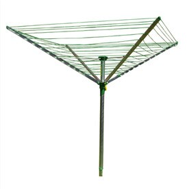 Style Selections 40 Tier Mixed Material Umbrella Clothesline