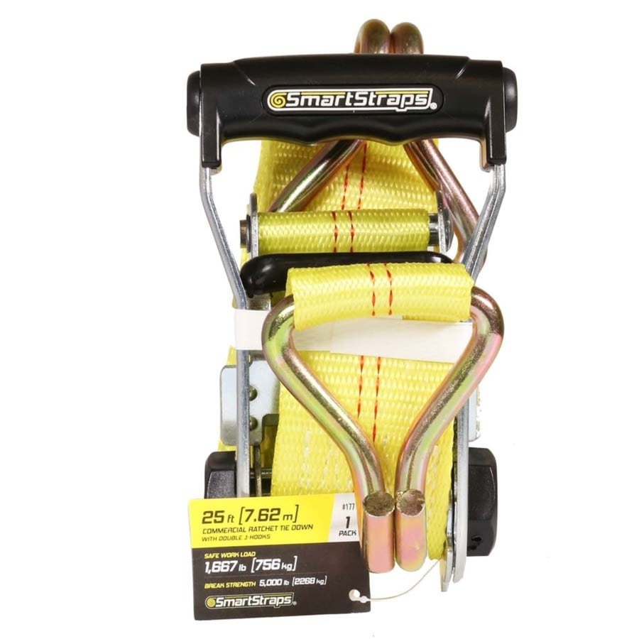 SmartStraps 2-in x 25-ft Ratcheting Tie Down