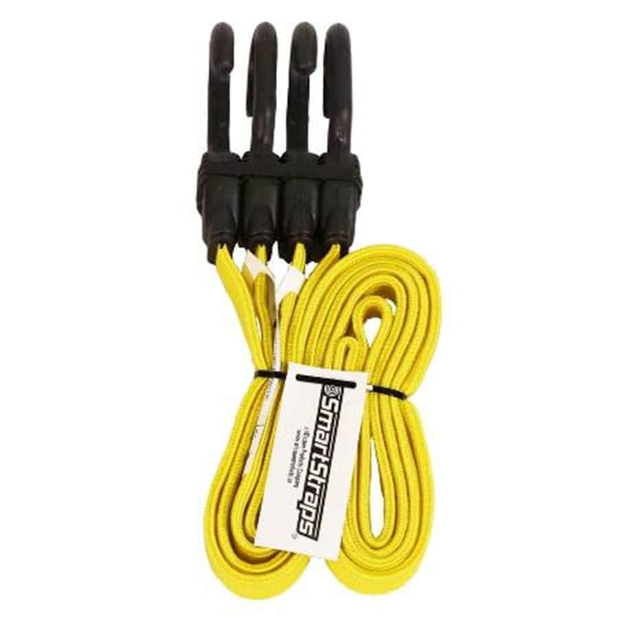 SmartStraps 4-ft Rubber Core Steel Hook Bungee Cord