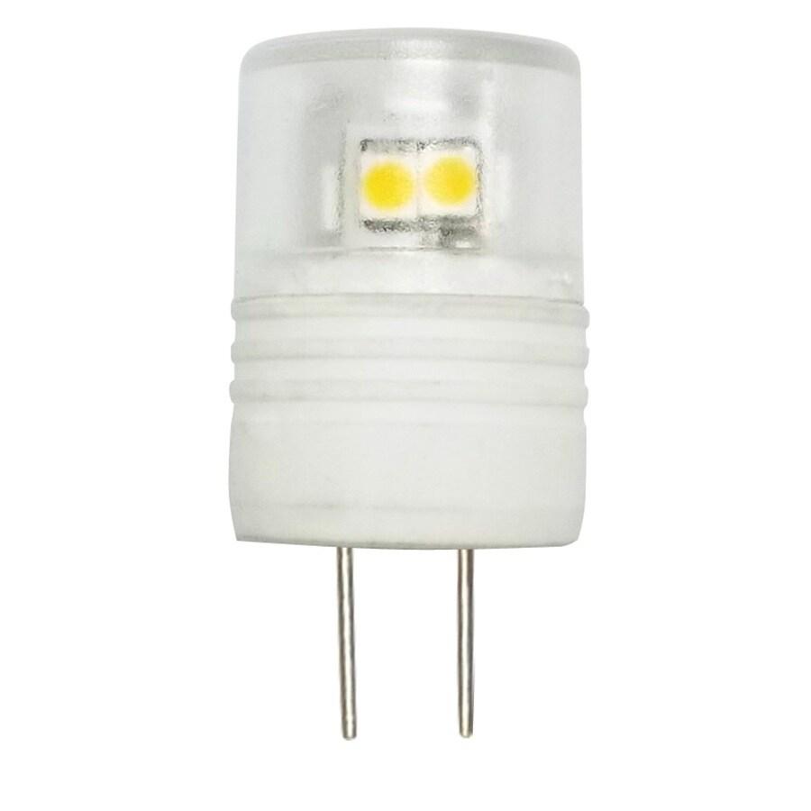 Utilitech 20W Equivalent Warm White T6 LED Light Fixture Light Bulb