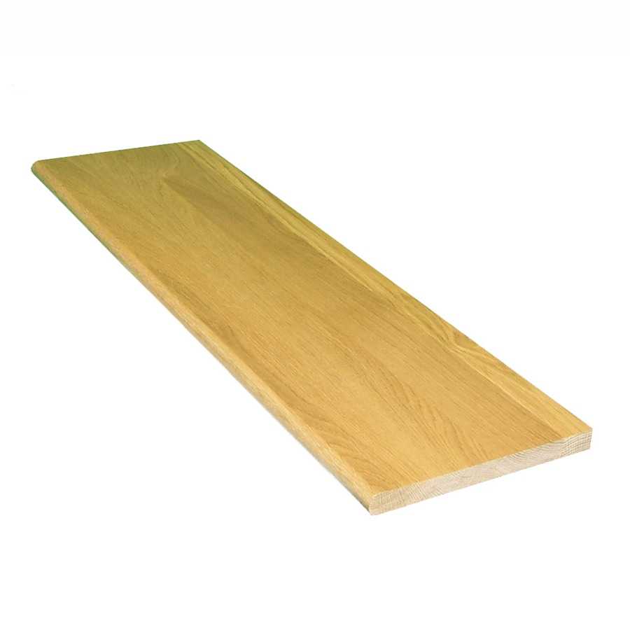 Shop Stairtek 11.5-in x 42-in Natural Prefinished White Oak Stair Tread at Lowes.com