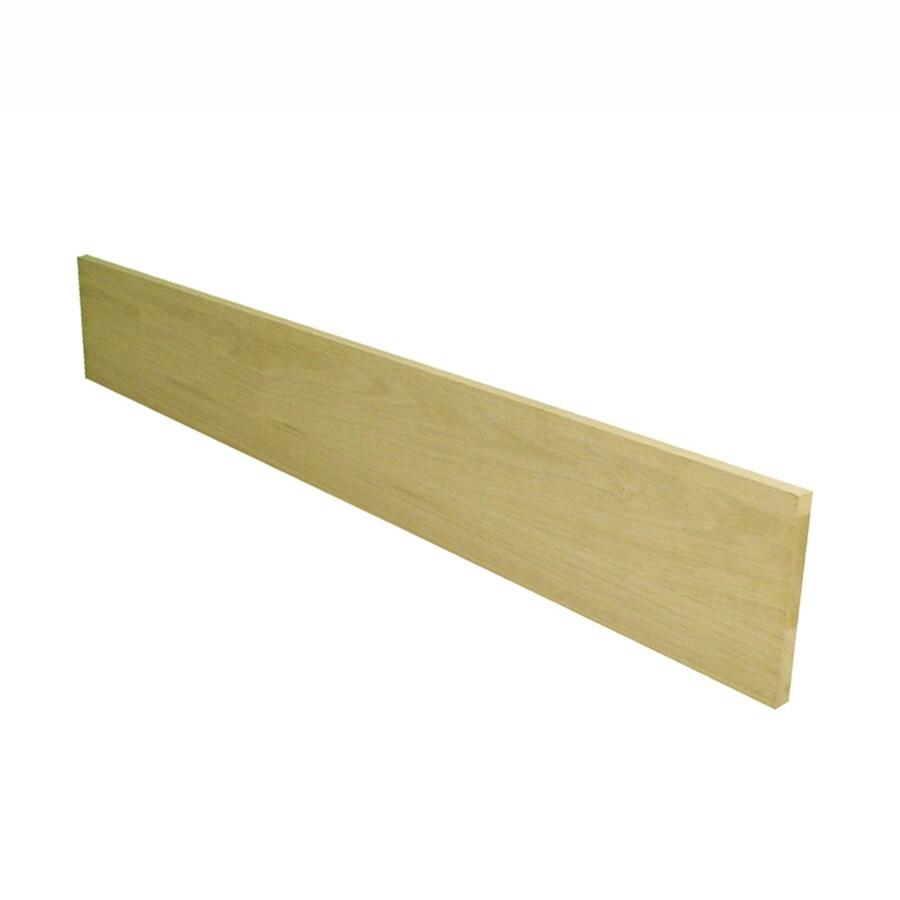 Stairtek 7.5-in x 48-in White Oak Stair Riser