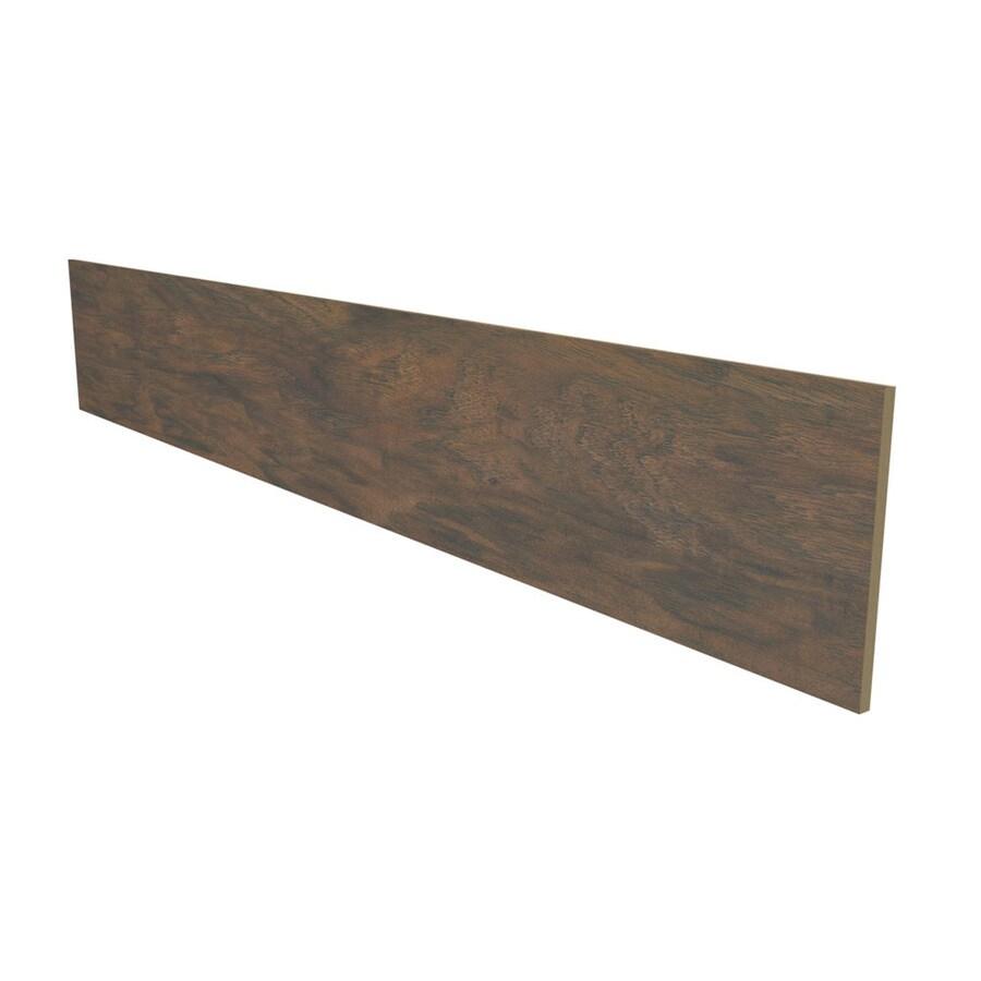 Stairtek NextStep 7.5-in W x 4-ft L Toasted Chestnut Smooth Wood Plank Laminate Flooring