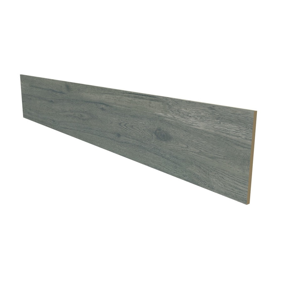 Stairtek Silver Mist Oak Laminate Flooring Riser At Lowes Com