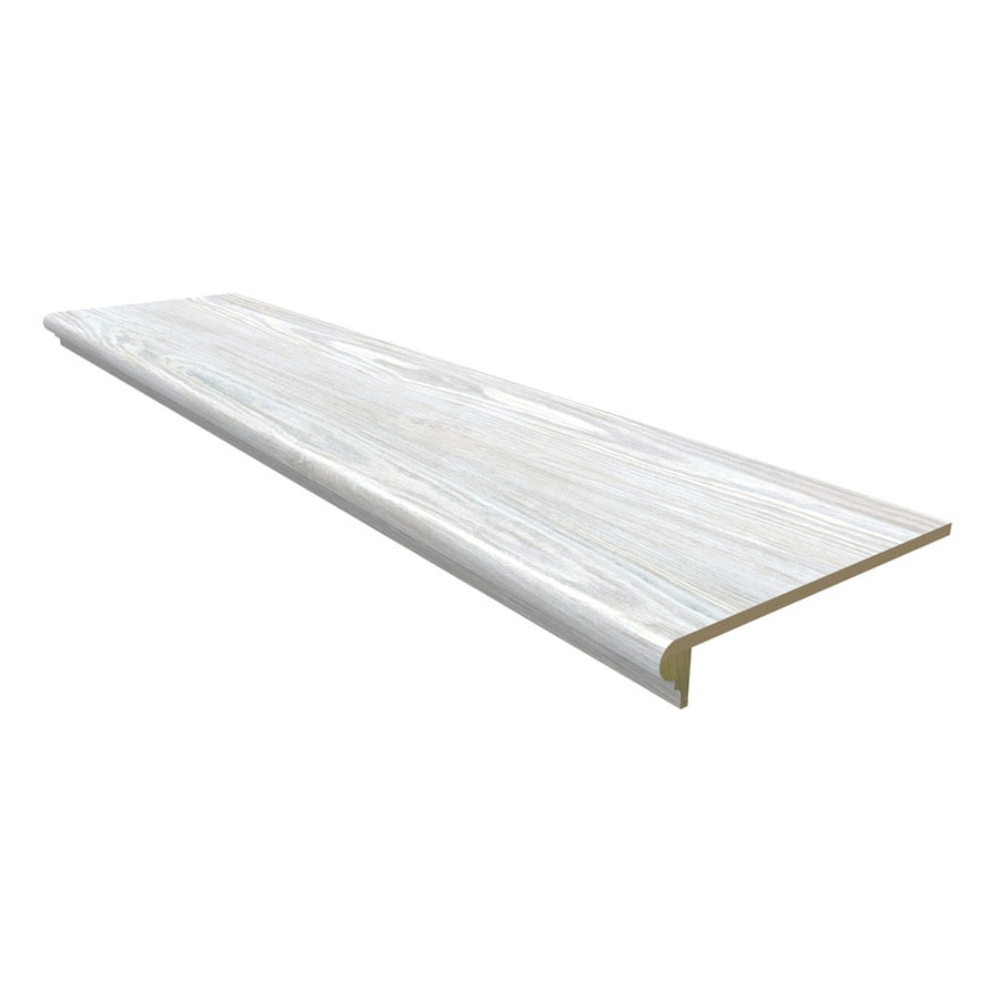 Stairtek Willow Lake Pine Laminate Flooring Tread At Lowes Com