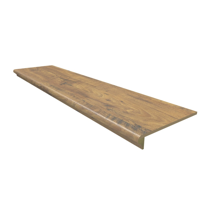 Stairtek Amber Chestnut Laminate Flooring Tread At Lowes Com