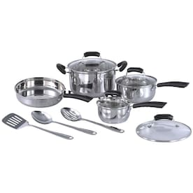 SPT 8-in Stainless Steel Cookware Set with Lid(s) Included