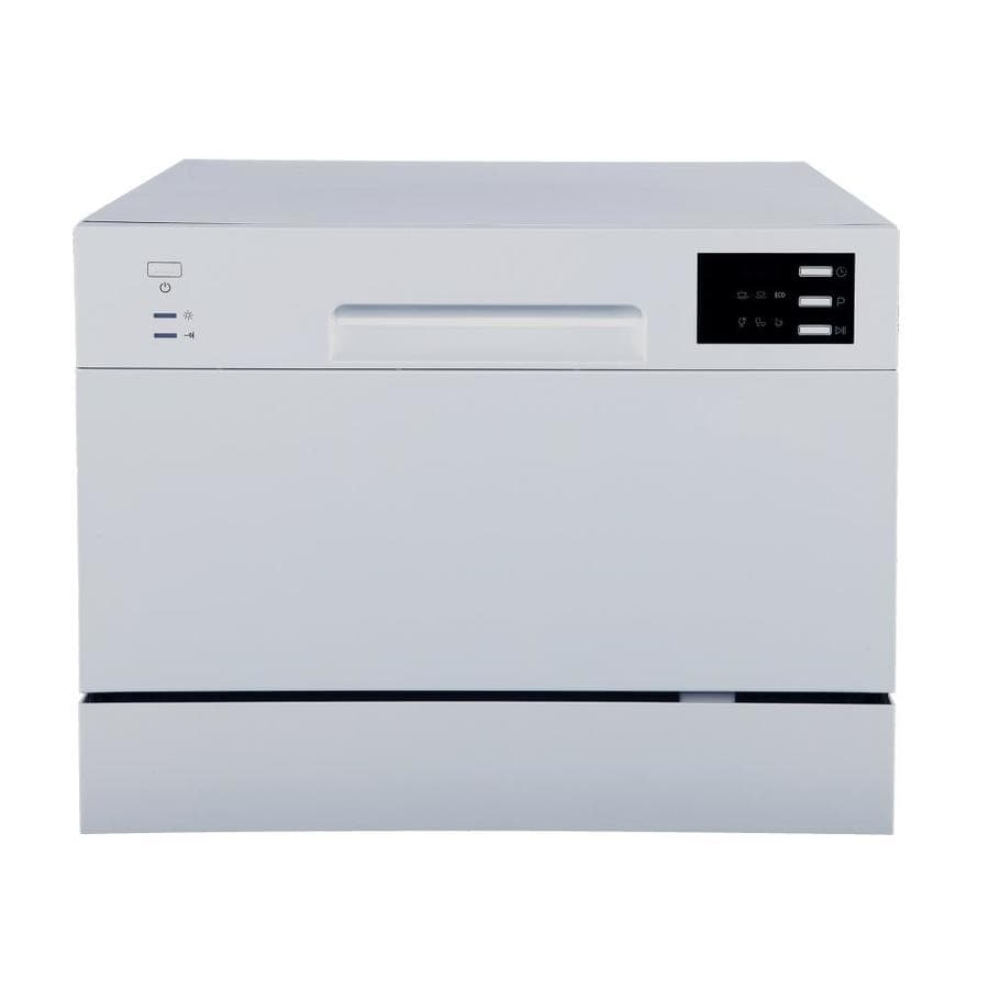Spt 12 In 55 Decibel Portable Dishwasher Stainless Energy Star In The Portable Dishwashers Department At Lowes Com