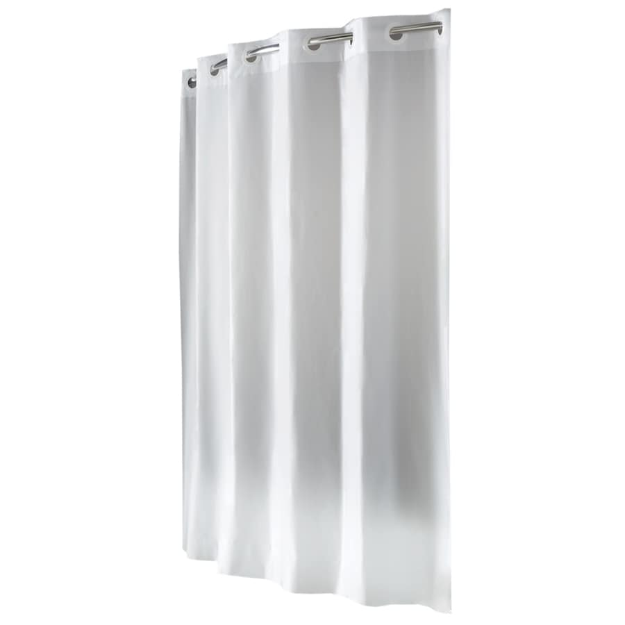 Display Product Reviews For EVA/PEVA Frosty White Solid Shower Liner