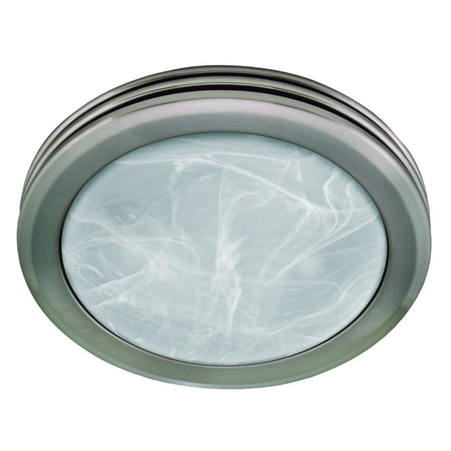 Harbor Breeze 2 Sone 80 Cfm Brushed Nickel Bathroom Fan With Light