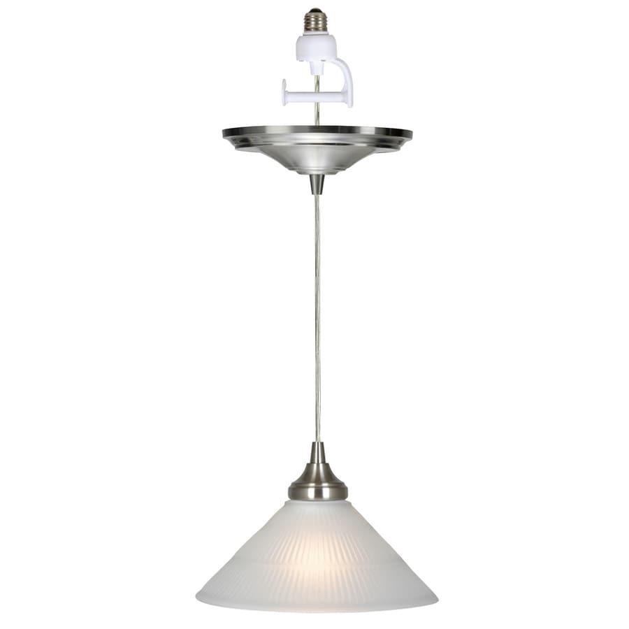 shop portfolio recessed to pendant light conversion kit at lowes com