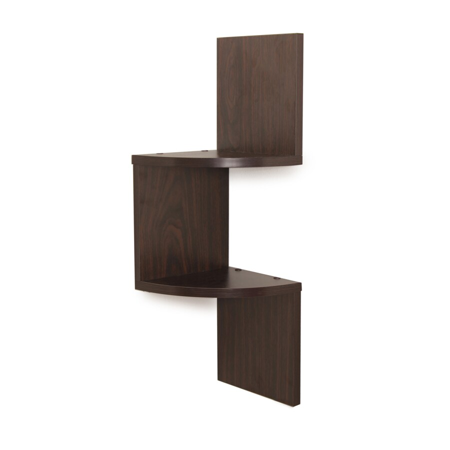 Wall Mounted Wood Shelves ~ Shop danya b in w h d wood wall