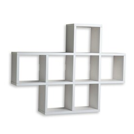danya b 31in w x 23in h x 55in d - Wall Mounted Bookcase