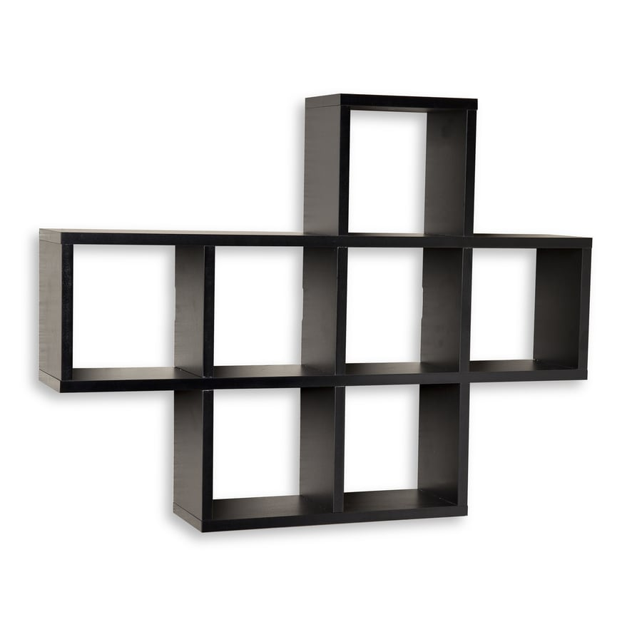 Danya B 23 In H X 5 5 In D Wood Wall Mounted Shelving At