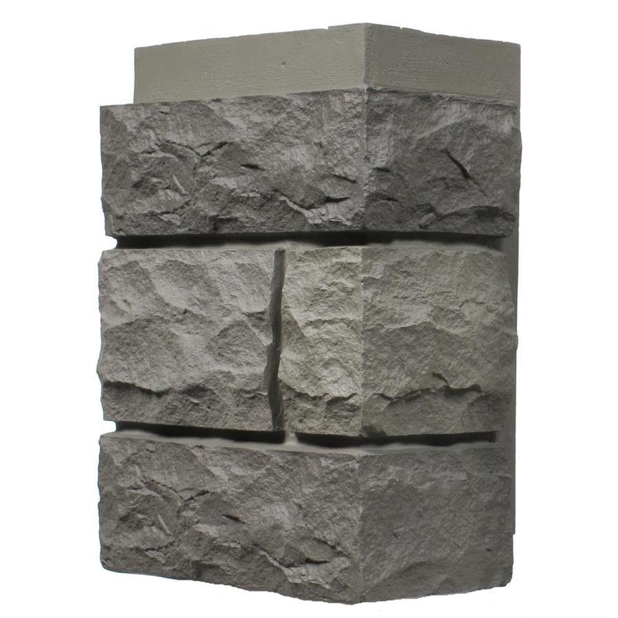 NextStone Random Rock 4-Pack 5.16-lin ft Mountain shadow Outside Corner Stone Veneer