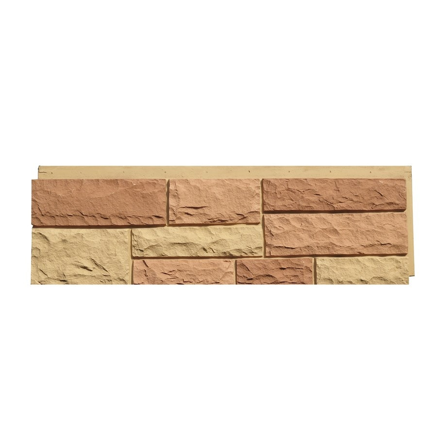 Stone Veneer Products : Shop nextstone random rock sq ft tri sedona red faux