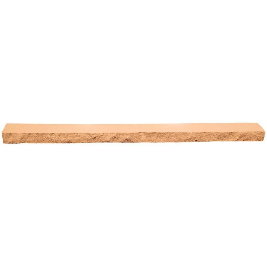 NextStone Sandstone 4-Pack 4-in x 48-in Red Ledge Stone Veneer Trim