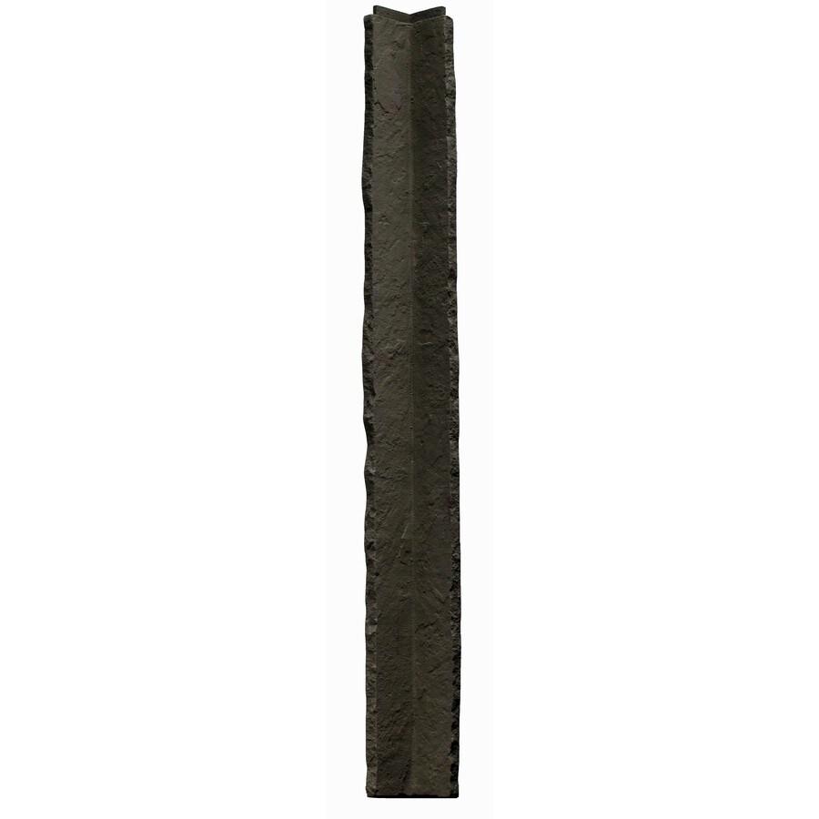 NextStone Sandstone 2-Pack 3.5-in x 48-in Gray Molded Corner Stone Veneer Trim