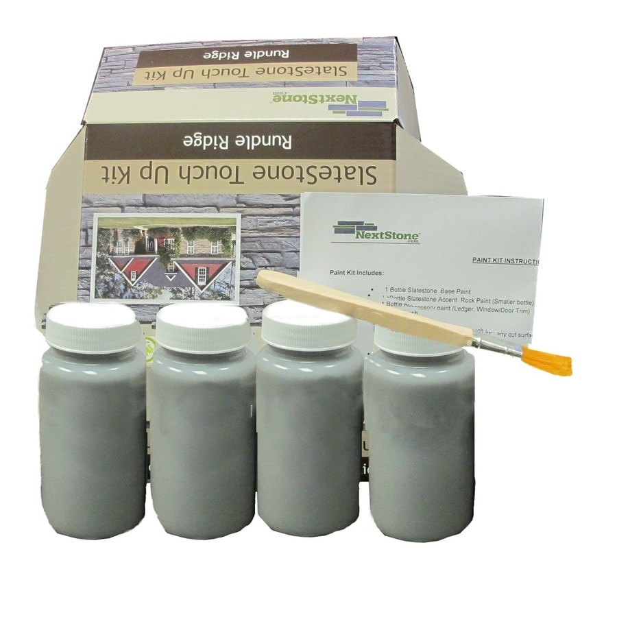 NextStone Masonry And Stucco Tri gray Flat Latex Interior/Exterior Paint Kit (Actual Net Contents: 16-fl oz)