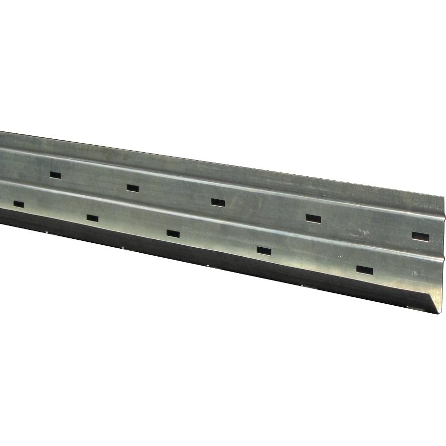 Nextstone Metal Starter Strip 2 5 In X 4 In Silver Metal