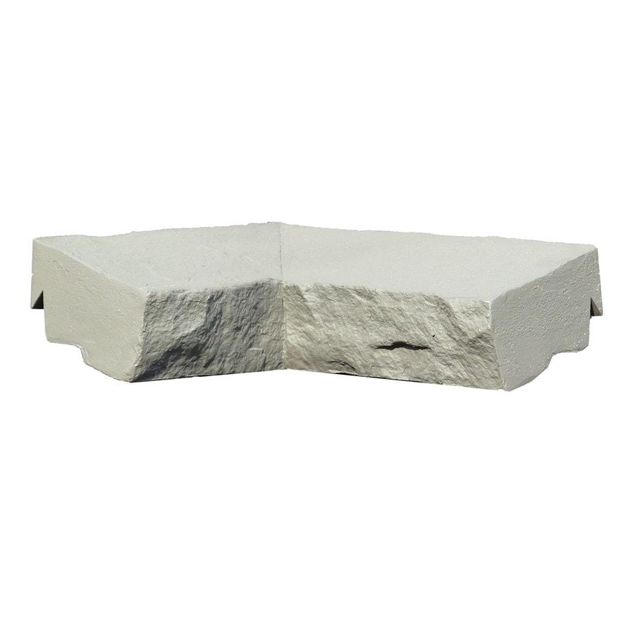 NextStone Sandstone 2-Pack 2.5-in x 9.75-in Gray Ledge Corner Stone Veneer Trim