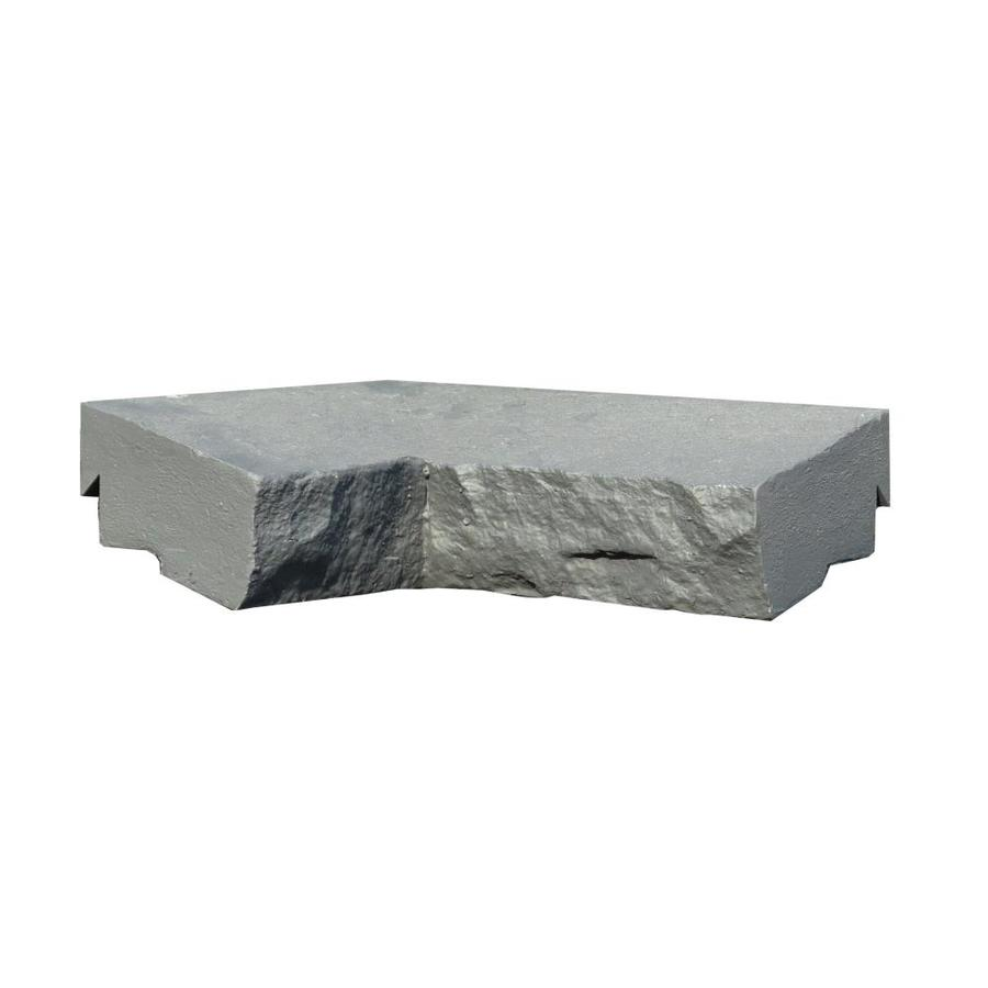 NextStone Sandstone 2-Pack 2.5-in x 9.75-in Charcoal Ledge Corner Stone Veneer Trim