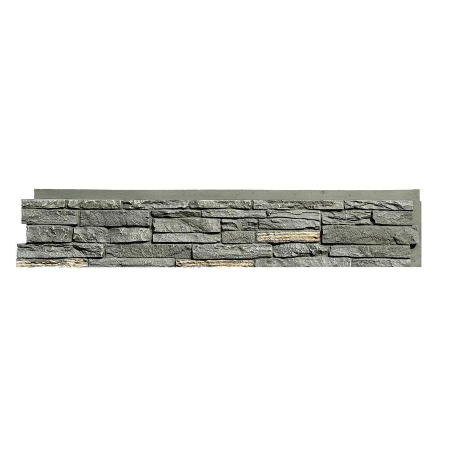 NextStone Slatestone 17.12-sq ft Midnight ash Faux Stone Veneer