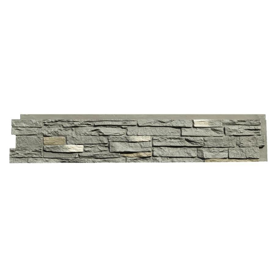 NextStone Slatestone 17.12-sq ft Rundle ridge Faux Stone Veneer