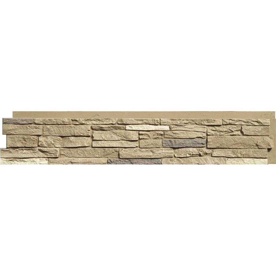NextStone Slatestone 17.12-sq ft Brunswick Brown Faux Stone Veneer