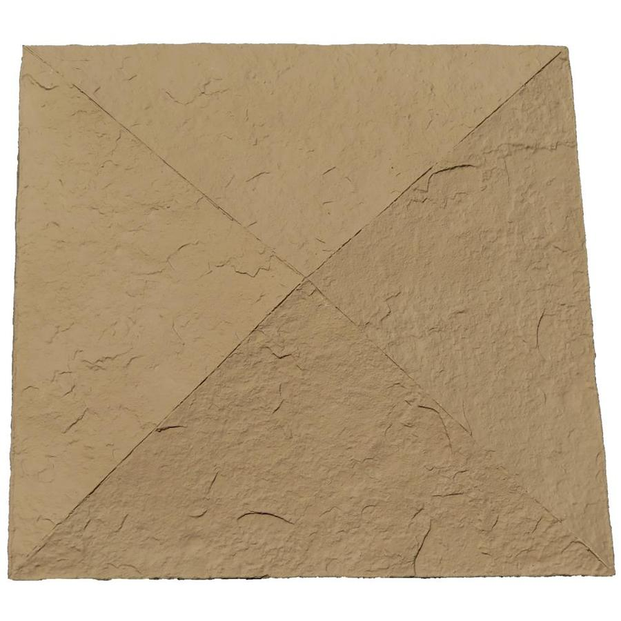 NextStone Sandstone 18-in x 18-in Brown Column Cap Stone Veneer Trim