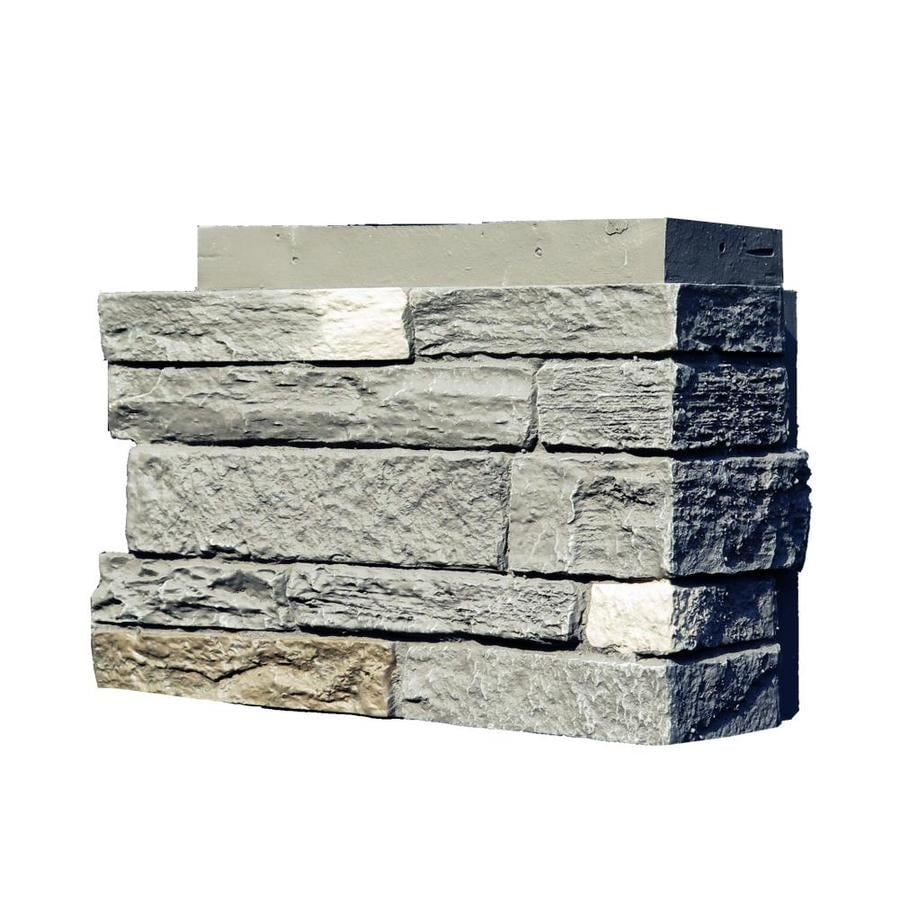 NextStone Slatestone 4-Pack 2.75-lin ft Rundle ridge Outside Corner Stone Veneer