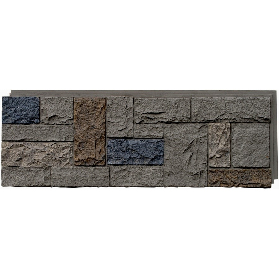 NextStone Castle Rock 16.12-sq ft Tudor gray Faux Stone Veneer