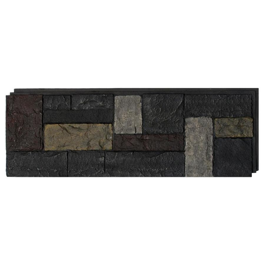 NextStone Castle Rock 16.12-sq ft Ashford charcoal Faux Stone Veneer