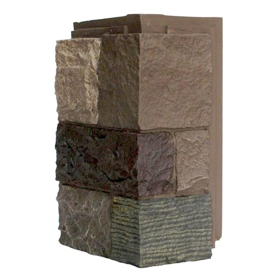 NextStone Castle rock 4-Pack 5.16-lin ft Tuscan brown Outside Corner Stone Veneer Trim