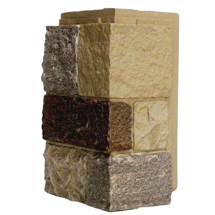 NextStone Castle rock 4-Pack 5.16-lin ft Windsor buff Outside Corner Stone Veneer Trim