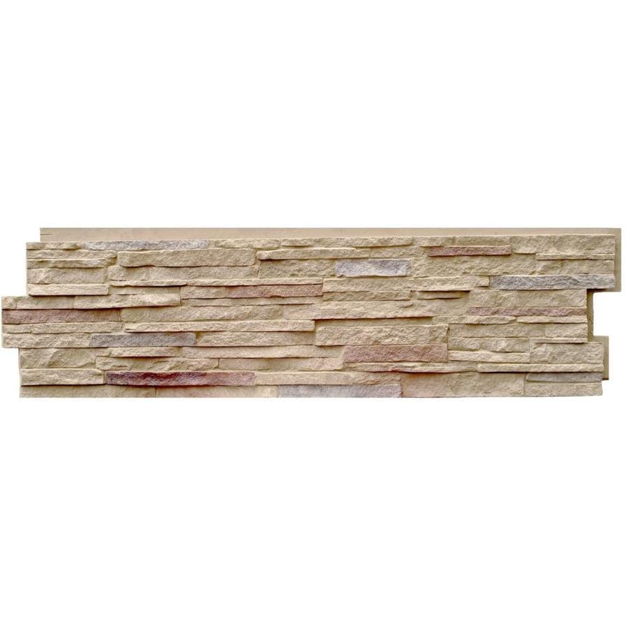 Shop Nextstone Stacked Stone Ft Sandy Buff Faux