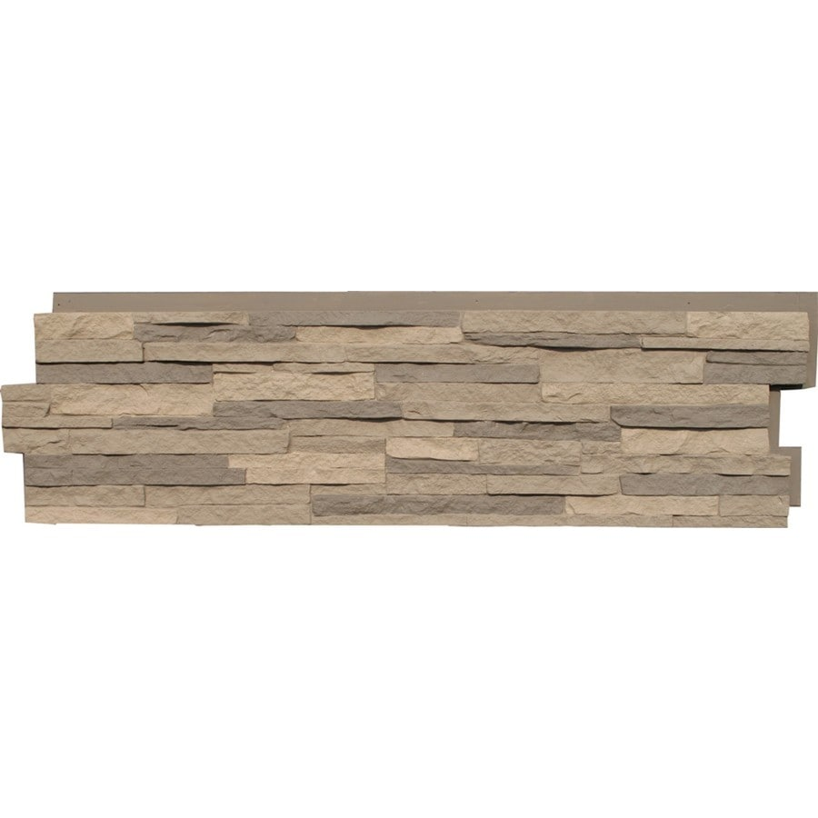 nextstone stacked stone 1815sq ft kentucky gray faux stone veneer - Faux Stone Veneer