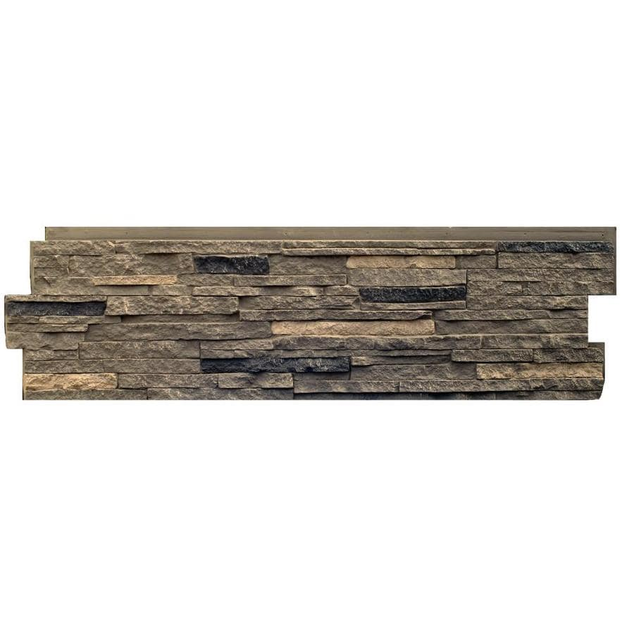 Shop Nextstone Stacked Stone 18 15 Sq Ft Volcanic Gray