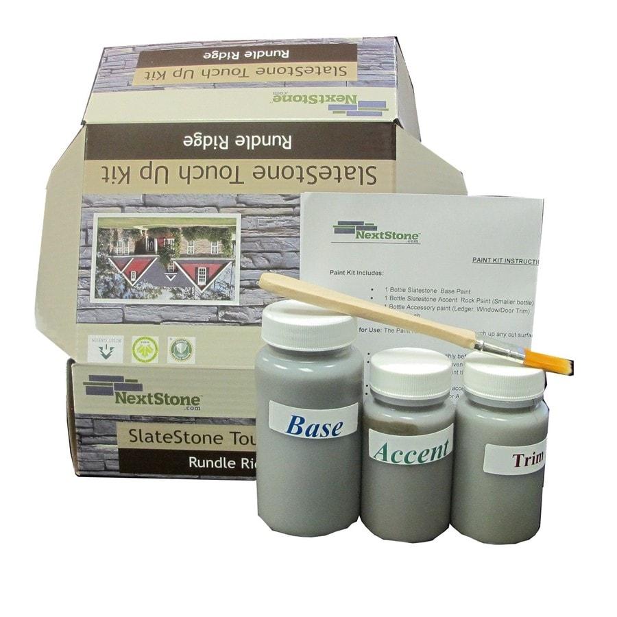 NextStone Masonry And Stucco Sandy buff Flat Latex Interior/Exterior Paint Kit (Actual Net Contents: 10-fl oz)