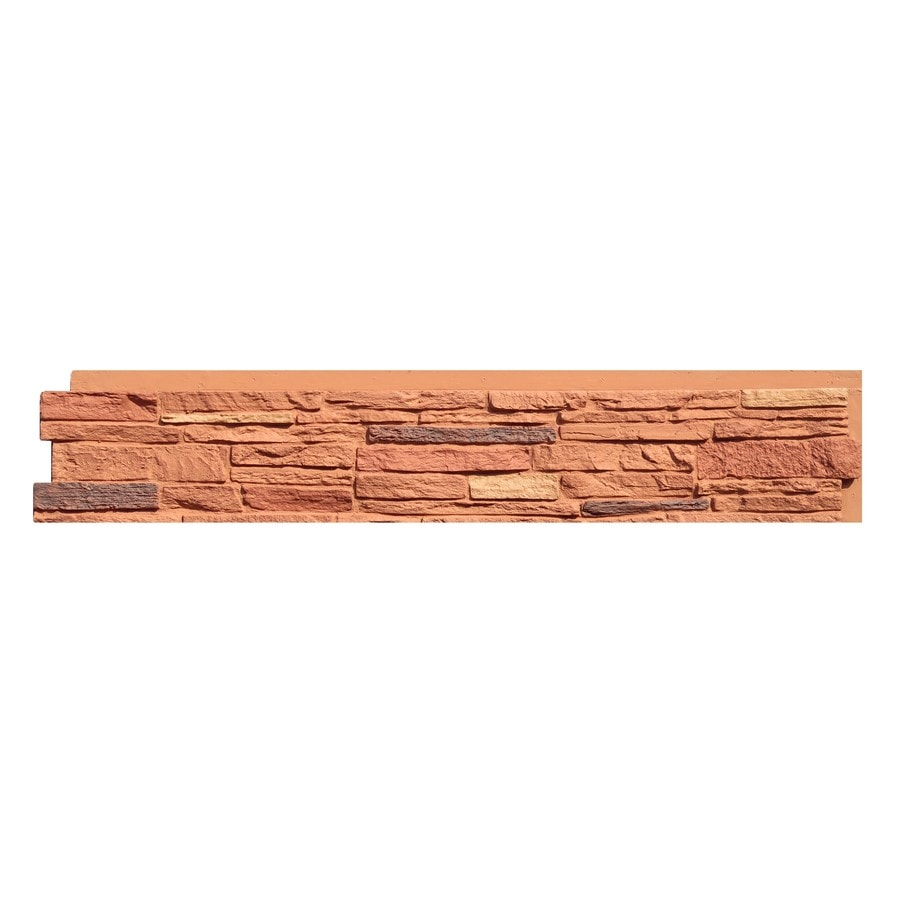 NextStone Slatestone 17.12-sq ft Arizona red Faux Stone Veneer