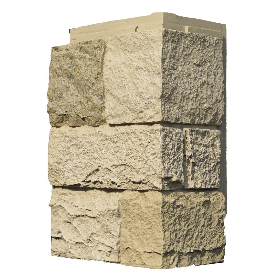 NextStone Castle Rock 5.16-lin ft Berkshire Buff Faux Stone Veneer