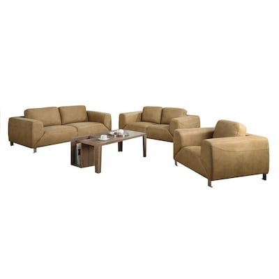Cool Monarch Specialties Casual Tan Microfiber Club Chair At Evergreenethics Interior Chair Design Evergreenethicsorg