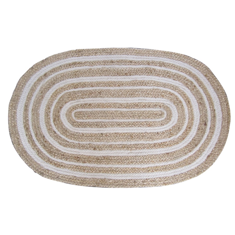 Allen + Roth Oval Indoor Braided Throw Rug At Lowes.com