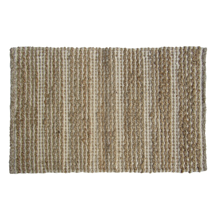 allen + roth Rectangular Indoor Woven Throw Rug
