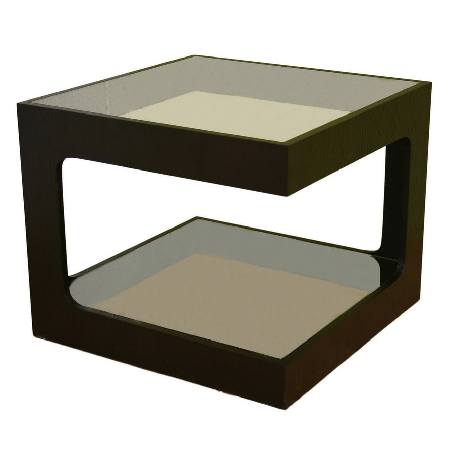 Baxton Studio Black End Table