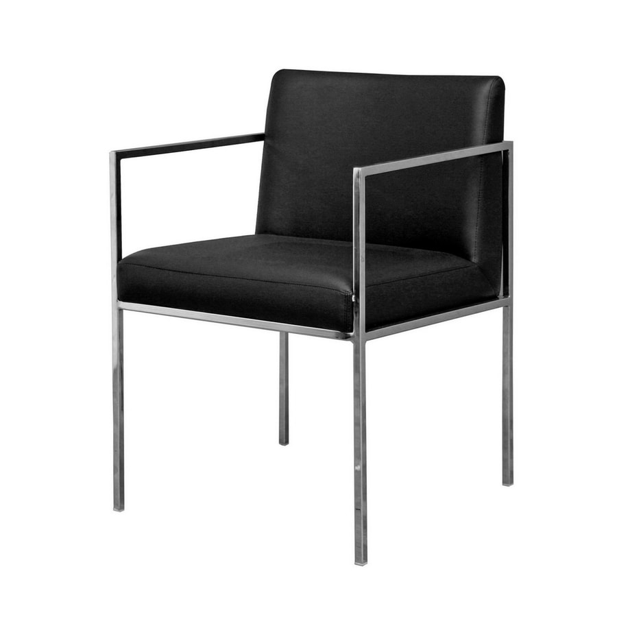 Baxton Studio Contemporary Black Arm Chair