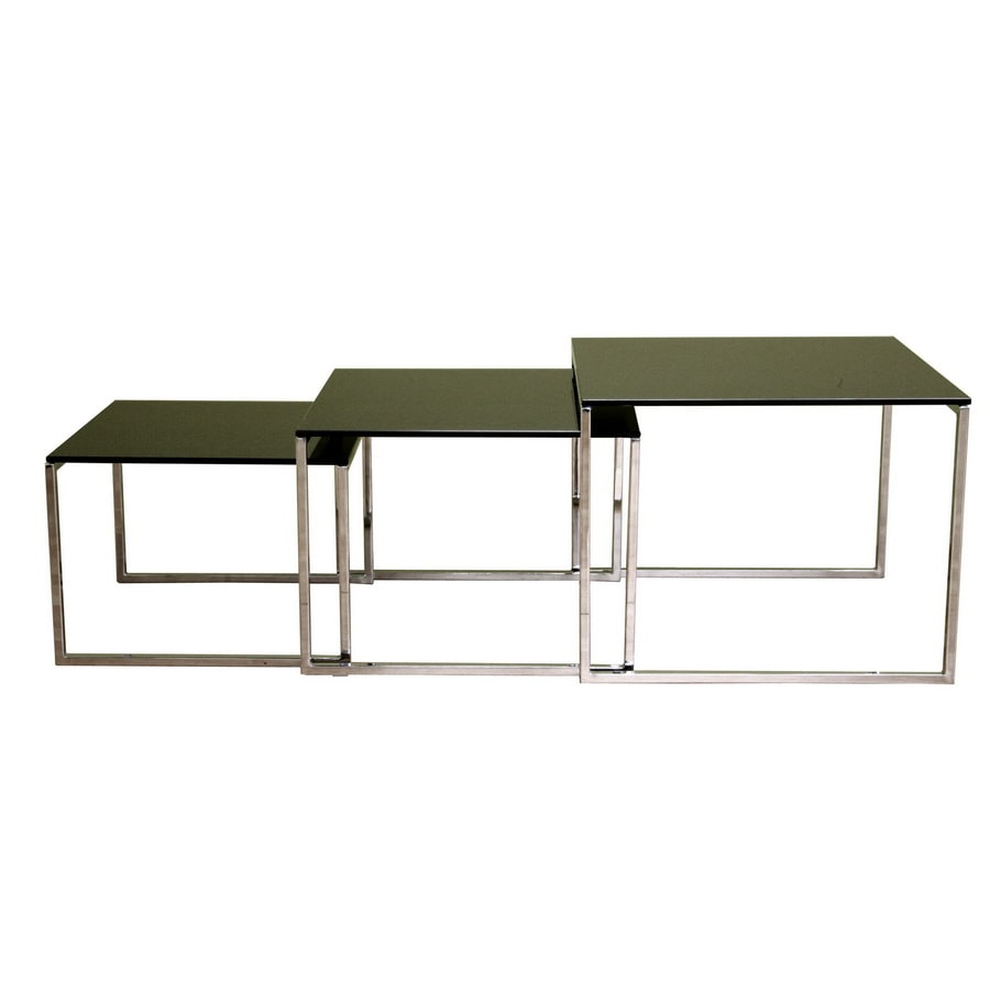 Baxton Studio Glass Coffee Table
