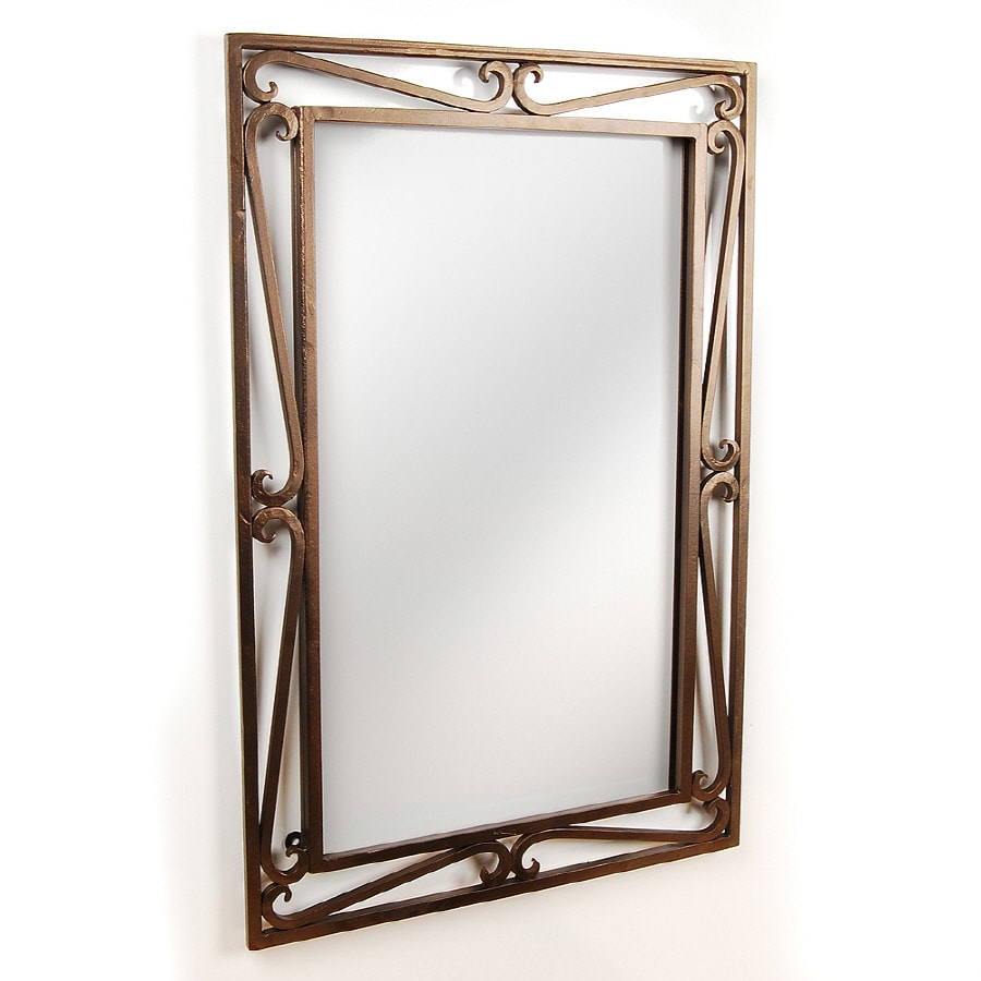 Shop D Vontz 20 In W X 30 In H Bathroom Mirror At Lowes Com