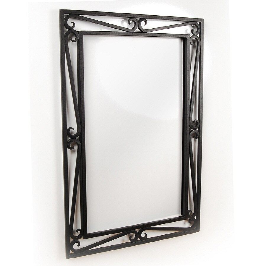 D'Vontz 20-in W x 30-in H Bathroom Mirror
