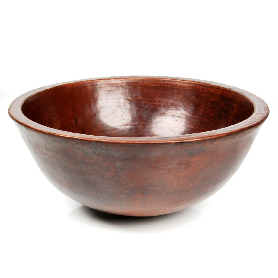 Shop D'Vontz Copper Vessel Bathroom Sink at Lowes.com
